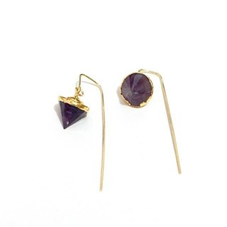 Style Amethyst Earrings