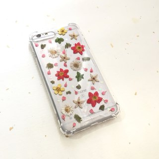 Christmas maple forest dreamy flower phone shell