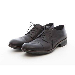 ARGIS increased design horizontal derby shoes #41216 gentleman black - Japanese handmade