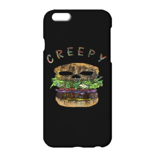 [iPhoneケース] Creepy hamburger 2