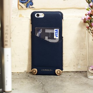 iPhone 6/ 6S / 4.7 inch New Minimalist Series Leather Case - Navy
