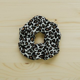 Classic leopard hair bundles / large intestine ring donut hair ring