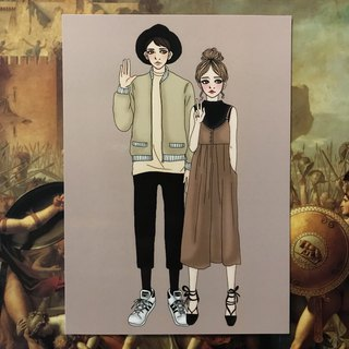 *Boys and Girls*Couple Wear - Postcards