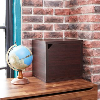 [Ange House] Qiao Cat House | Expanded Door Cabinet (Walnut)