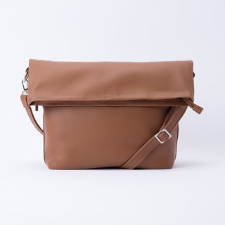 Folded Tote Bag Coffee / Coffee