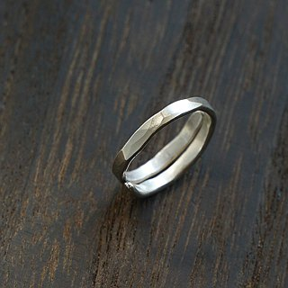 Laboratory RoomA forging sterling silver ring