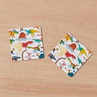 DINOSAURS COASTERS SET OF 2