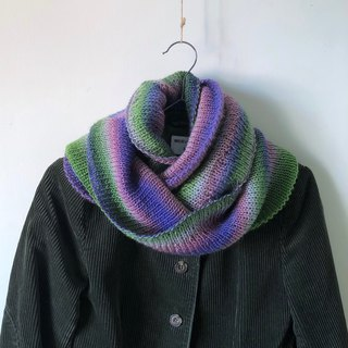 Jellyfish - Gradient Color - Handmade Woolen Neck Scarf