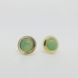 Semi-precious ear earrings (free ear clips available)