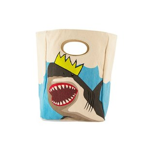 Canadian fluf organic cotton [hand bag]--Shark King