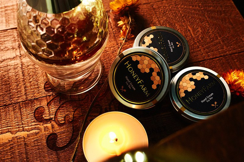 P.Seven Producer [Honey Hall] Pillow Sleeping - Honey Fragrance Skin Care Candle (Large - Fragrance Bathroom)
