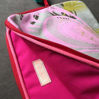 Hand serigraphy computer bag (Apple Ipad Air)