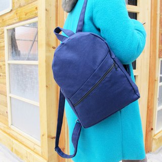 【Tibetan minimalist ideas】 backpack / Taiwan canvas YKK zipper inside