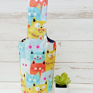 [Iceba Cup. Beverage bag] 316.304 stainless steel bottle for - green cat