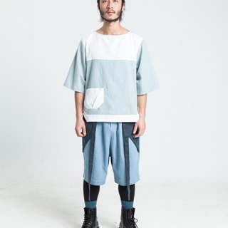 Alan Hu 2017 S/S Boat Collar Top
