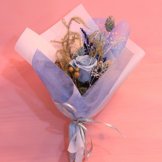 """Tranquil mum"" does not turn roses bouquet │ mother's day │ carnations │ not withered │ dry flowers │ gift │ bouquet │"