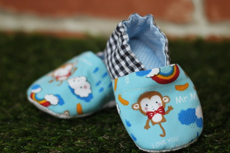 小猴子學步鞋<手工鞋>