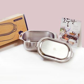 【Box】 304 stainless steel tableware series - Foglight No. 4 (about 1000ml)