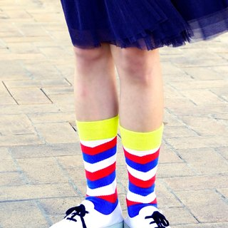Women's Socks - Barber Shop, British Design for Stylish Ladies