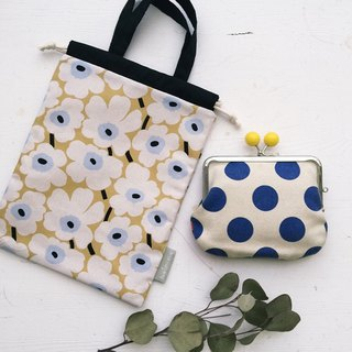 Pop style flower handbook / notepad / small bundle mouth storage bag - camel (tn / hobo / MD / diary)