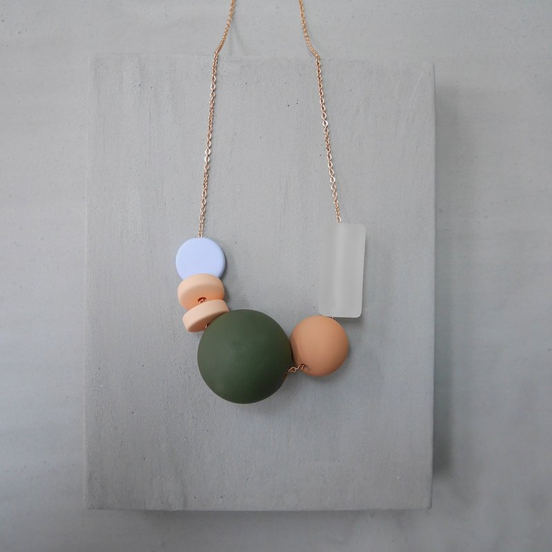 Marshmallow Necklace - PING PONG 002