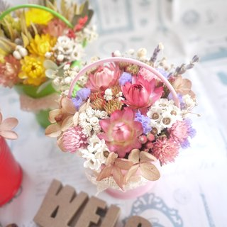 To be continued | pinkish color of dried flowers small potted small wedding was arranged wedding gifts bridesmaid gift gift home decorations props photography office treatment was smaller spot