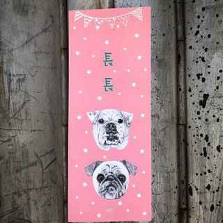 adc party animal dog waving spring - starling - Pug - Bulldog - Bull Terrier