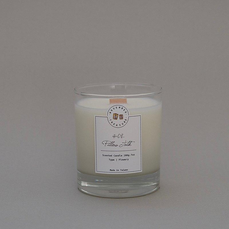 09' PILLOW TALK 枕邊語 / 工藝香氛蠟燭