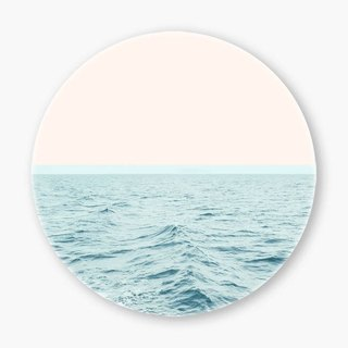 Snupped Ceramic Coaster - 陶瓷杯墊 - Sea Breeze