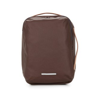 Canvas Series-13吋Three Classic Back Backpack (Back/Hand/Shoulder)-Dark Brown-RBP270BR