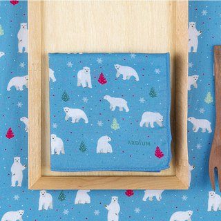 Ardium Nature Hanky ​​Handkerchief - Polar Bear