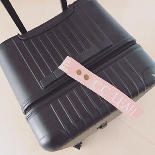 Customized luggage ribbon (pearl powder)