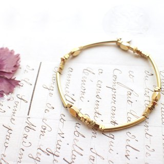 Childhood- brass bracelet