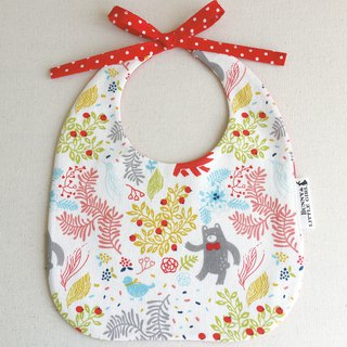 Two-sided bib - Forest Bear