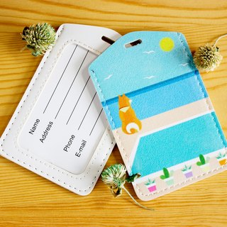 Chai will carry luggage tag dual-use card sets - summer articles