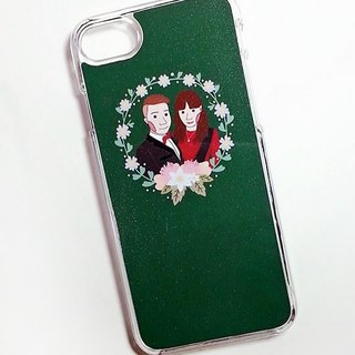 Customized portrait mobile phone shell_single