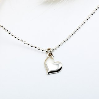 Love Heart s925 sterling silver necklace style 2 Valentine's Day gift