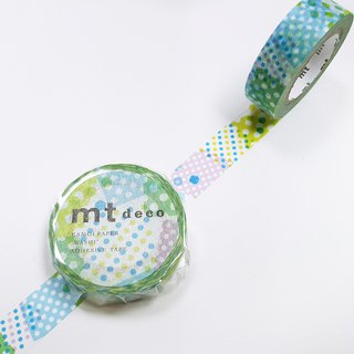 mt Deco Masking Tape 【Negapoji Dot Blue (MT01D423)】2018 summer
