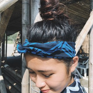 Sea Wave Finland Series x Aluminum Hose / Handmade Hairband