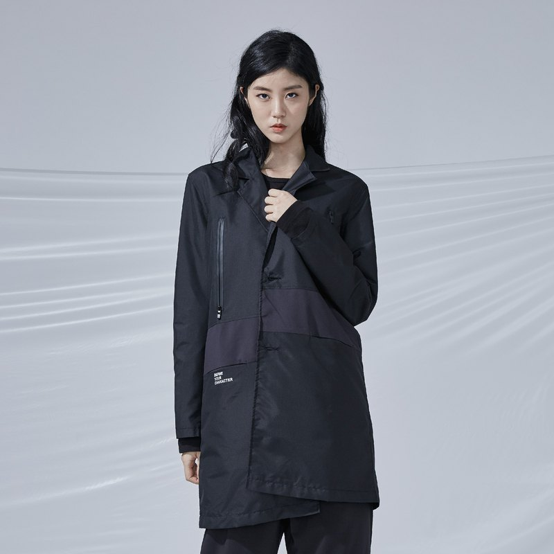 DYCTEAM - 3M Waterproof Stitching Coat 防水格紋拼接大衣