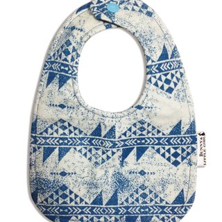 Double Sided Bib - Blue Denim Wind