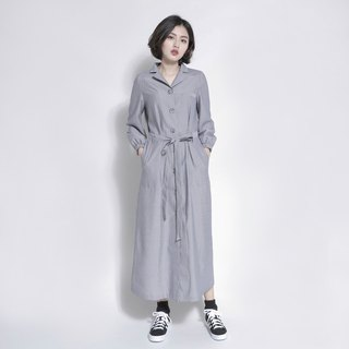 Breeze Breeze Tie Dress _7AF105_ Gray Stripe