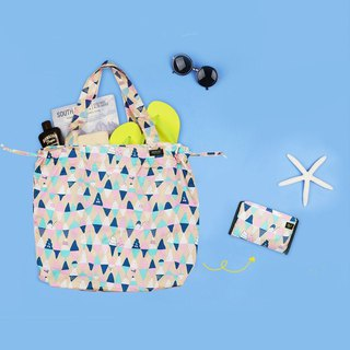 Antenna Shop picnic fun bunch folding shopping bag - ice cream, ATS95704