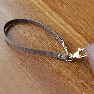Plepic Journey Holiday Double Buckle Leather Hand Wrap (Wristbow) - Brown Grey, PPC92849