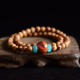 [Customer] Yabaimu South Red Agate Tianhe Stone Gift Bracelet Bracelet