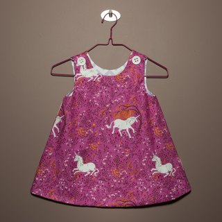 Unicorn Forest I (Purple) - Double Dress