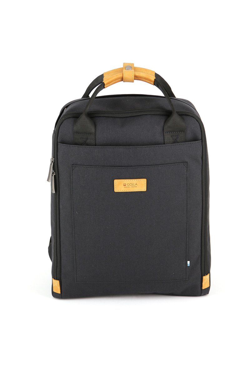 GOLLA 北歐芬蘭時尚極簡後背包 Original -G1767 黑色