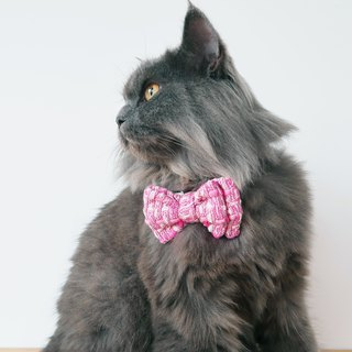 Luna Tweed Bowtie for Pets
