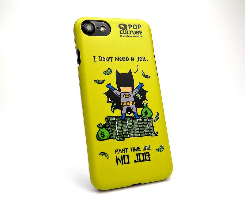 Hero part-time series NO JOB mobile phone case (iphone7/8)