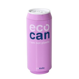 PLAStudio-ECO CAN-420ml-Made from Plant-Purple
